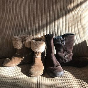 Clark boots in good condition